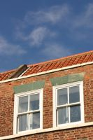 Whitby Windows and Rooftop by FoxStox