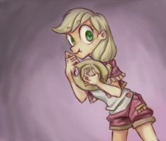 Applejack the liar Personify by dawkinsia