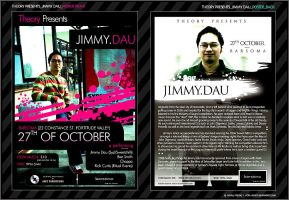 Flyer_Theory Presents Jimmy D by nofx