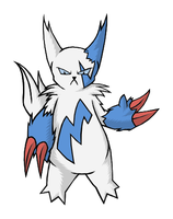 Zangoose - Colored Shiny by Exate