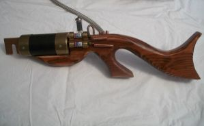 STEAMPUNK LIGHTNING RIFLE 4 by Macabre151