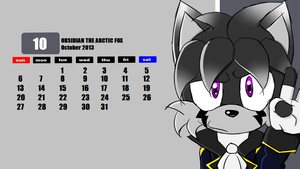 Calendar PC 10/12: OCTOBER by WightyComms