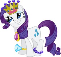 Rarity Bejeweled by Flizzick