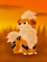 Growlithe by Alex800