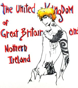 England tattoo by lullabyly