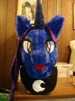 Princess Luna Head by ShaggyGriffon