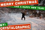 happy holidays by CrystalGraphic
