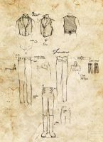 Study: Men's Victorian Clothing 01 by NaamahVonhell