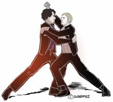 Sherlock: The Tango Irene. by superfizz