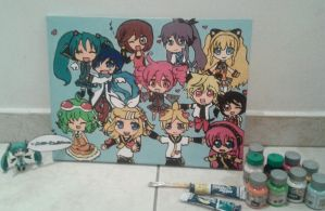 Vocaloids and Utau by Miku-IsaHatsune