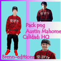 Pack Png De Austin Mahome by Brenn-editions99