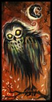 Mr. Owl... by IceandSnow