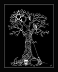 Samhain Tree by The-Pagan-Gallery