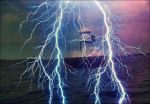 Lighthouse In Thunderstorm July 20st  by eskile