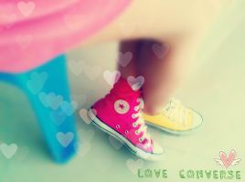 I LOVE CONVERSE by PNPhuongTrinh