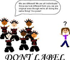DONT LABEL US by greendaygirl