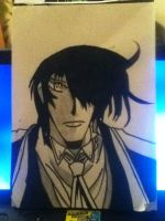 Quick Alucard drawing by Shh-Its-All-A-Lie