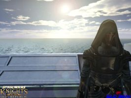 Lord Revan on Manaan by solidsnake160