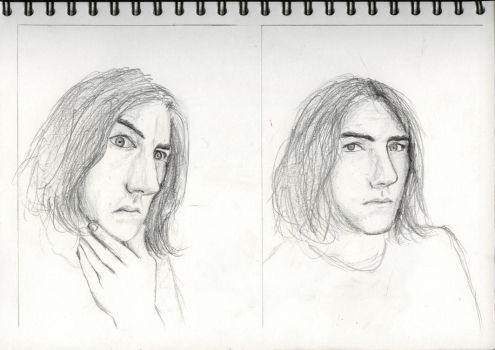 Expressions Sketches 2 by joabo42