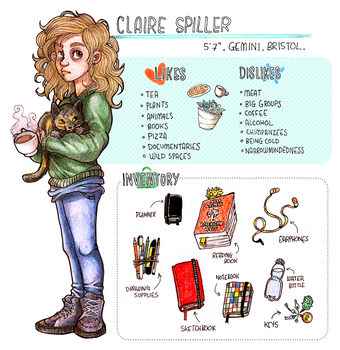 Meet the Artist - Claire Spiller (Athelo) by athelo