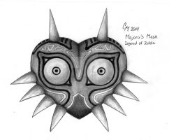 Majora's mask by Dallony