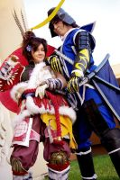 Sengoku Basara: Put Your Guns On by bekalou-cosplay