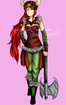 Viking Pyrrha by Ghost-Occult
