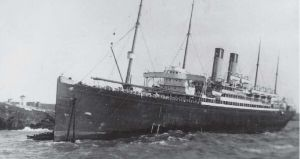 Celtic aground in Cork by lusitania25