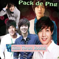 Pack Kim Hyun joong png by krtes2703