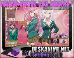 Moka Akashiya Theme Windows 7 by Danrockster