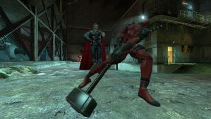 gmod - Thor and Deadpool 2 by delta-28