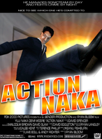 Action Naka by anotherblazehedgehog