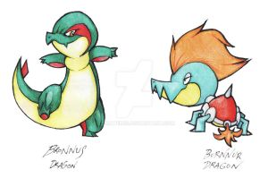 Version Exclusive Dragons by Tomatem13