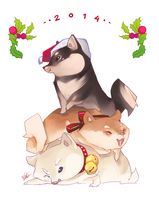 Merry Squishmas by liea