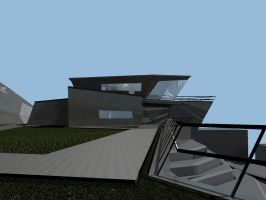 M house left elevation by alpruben