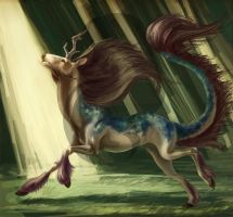 Run of the Kirin by Lucid-Crimson