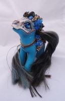 My little pony custom Dia de muertos Angelica by AmbarJulieta