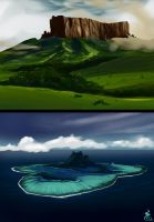 Quick Landscapes by Holyengine