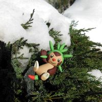Chespin by Foureyedalien