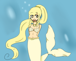 Cream Pearl ~ mermaid melody OC by Gu-chan101