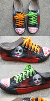 why so serious shoes by PASTRYfish