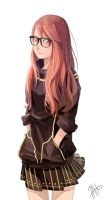 Red Hair Girl by 7AHO