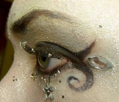Horus Glitter Eye Stock XI by Melyssah6-Stock
