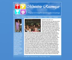 Ministerio Recomecar Layout by rodrigovp