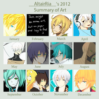 Summary of Art 2012 by AltairRia