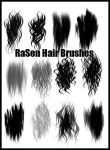 Painted Hair Brushes by RaSen