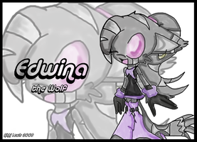 ::Edwina- Colored WP by sarathehedgehog