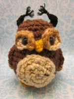 Wee Little Owl Owlette Amigurumi by Spudsstitches