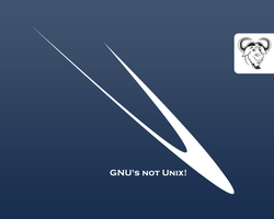 gnu s not unix by TryAgainBeats