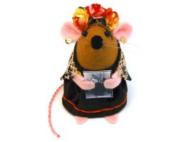 Frida Kahlo Mouse by The-House-of-Mouse